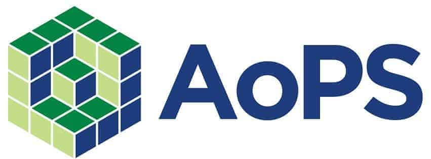 Logo of Art of Problem Solving (AoPS), a math-competition training hub for grade-school students