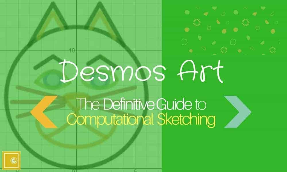 Header image of Math Vault's Desmos Art: The Definitive Guide to Computational Sketching