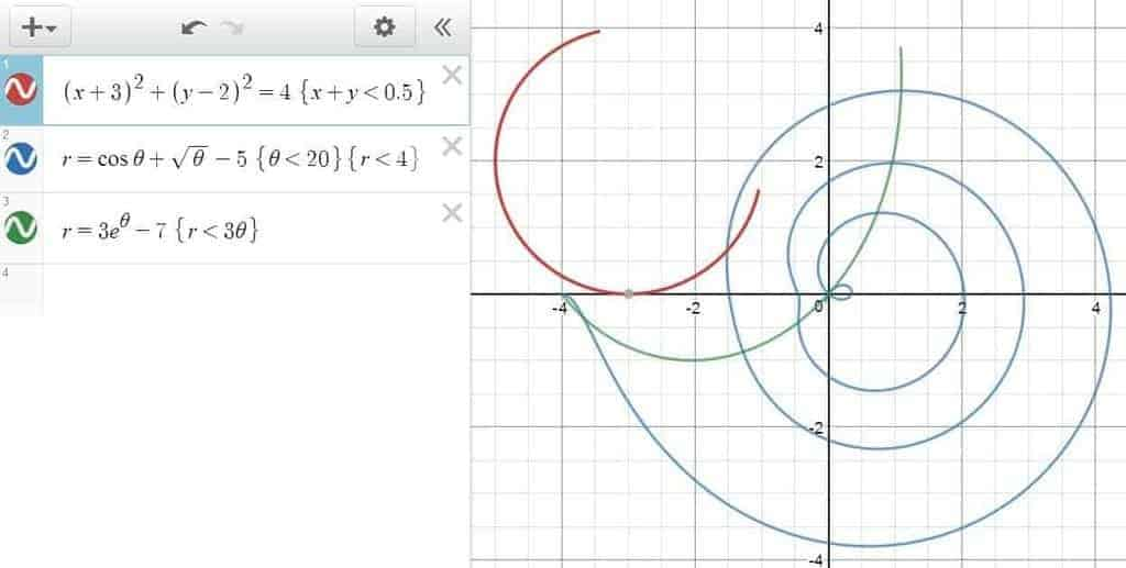 Graph Segmentation in Desmos: Imposing Restrictions on an equation/ingequality