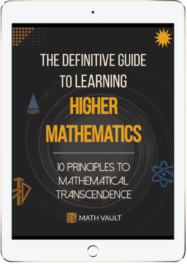 Higher Math Guide Cover iPad
