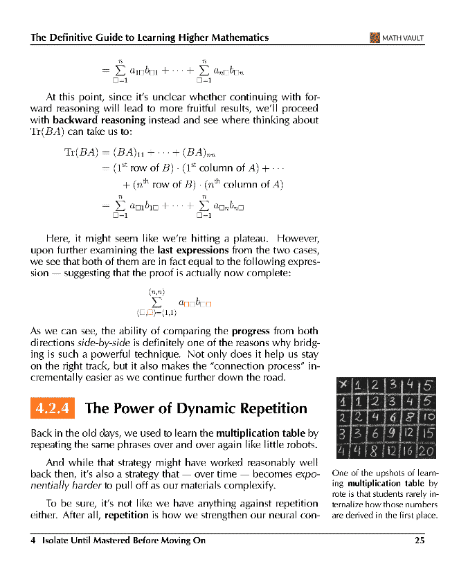 Higher Math Learning Guide P25