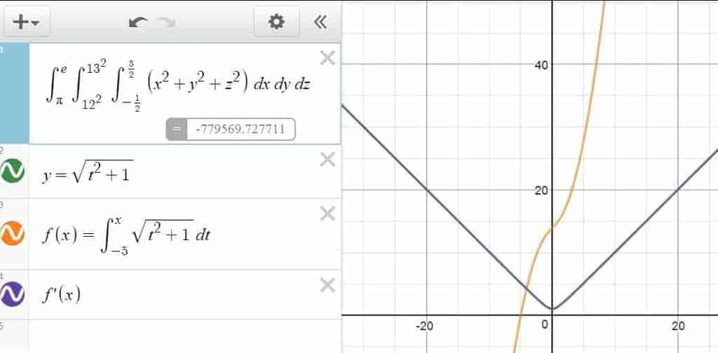 Integrals in Desmos: Triple Integral, Integra Functions and More!