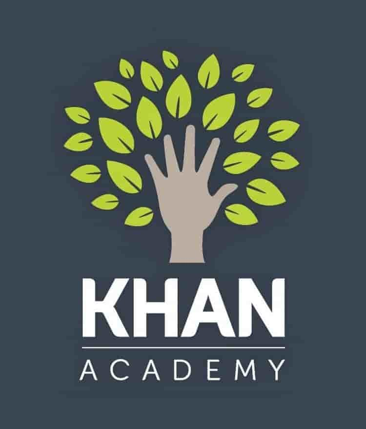 Logo of Khan Academy, a free online platform for learning K-12 and college mathematics