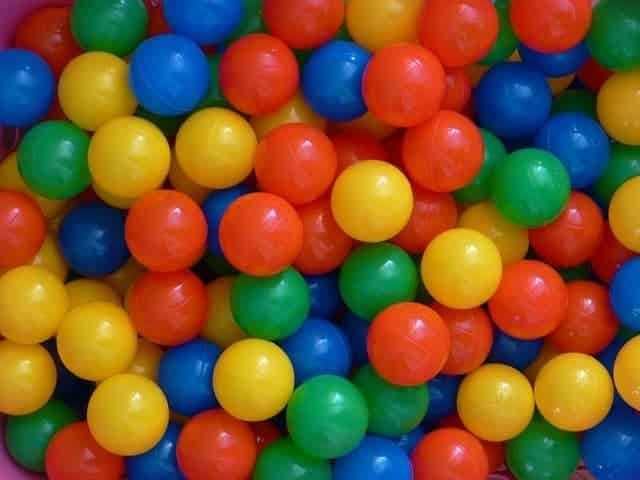 Lots of Colorful Balls