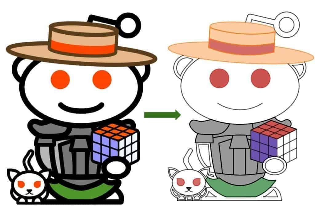 Math Vault Reddit Aliens — Original vs. The Desmos Version