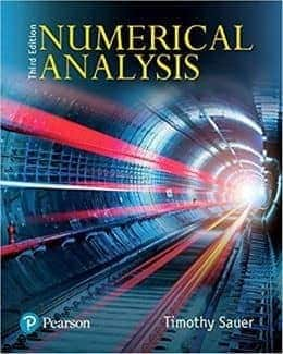 Numerical Analysis 3rd Edition by Timothy Sauer