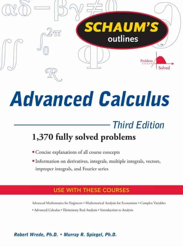 Schaum's Outlines to Advanced Calculus — 3rd Edition