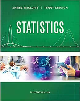 Statistics 13th Edition by McClave and Sincich
