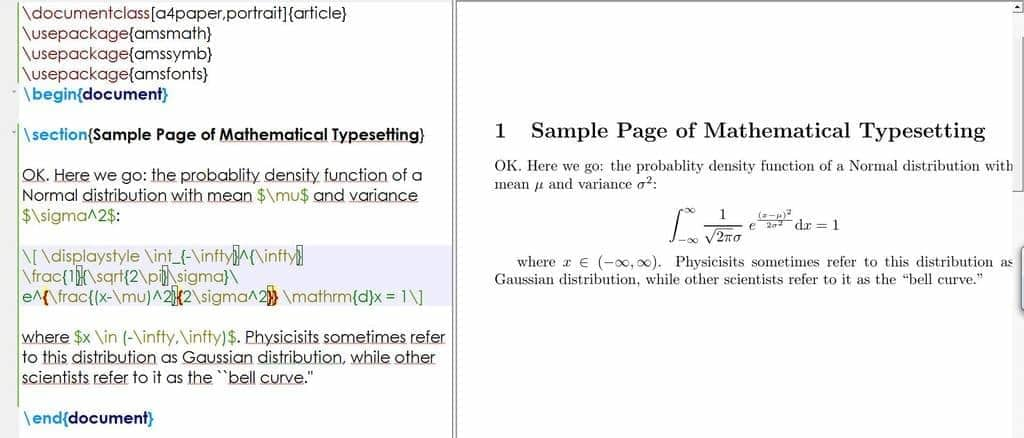 Typing Complex Formula in LaTeX - Messy Source Code with Increased Chance for Human Error