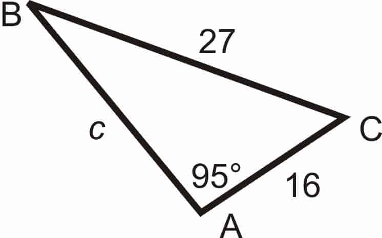 Solving a Real Triangle, Math 201 Concordia, Trigonometry, Law of Sines